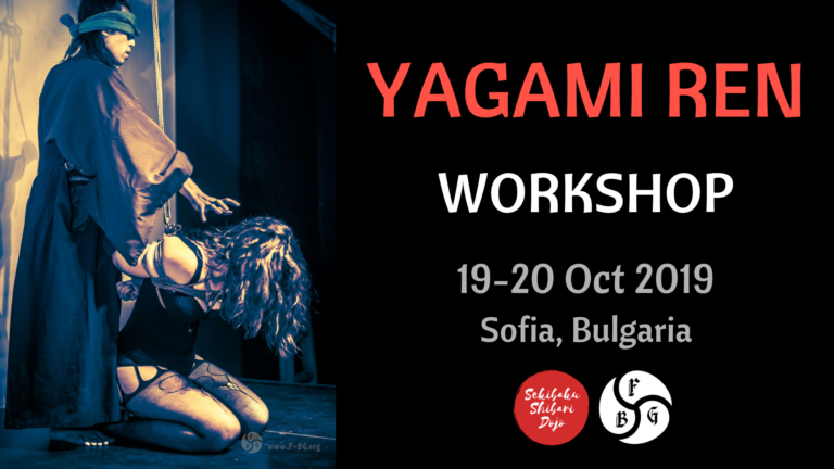 Ren Yagami Workshop in Sofia 2019